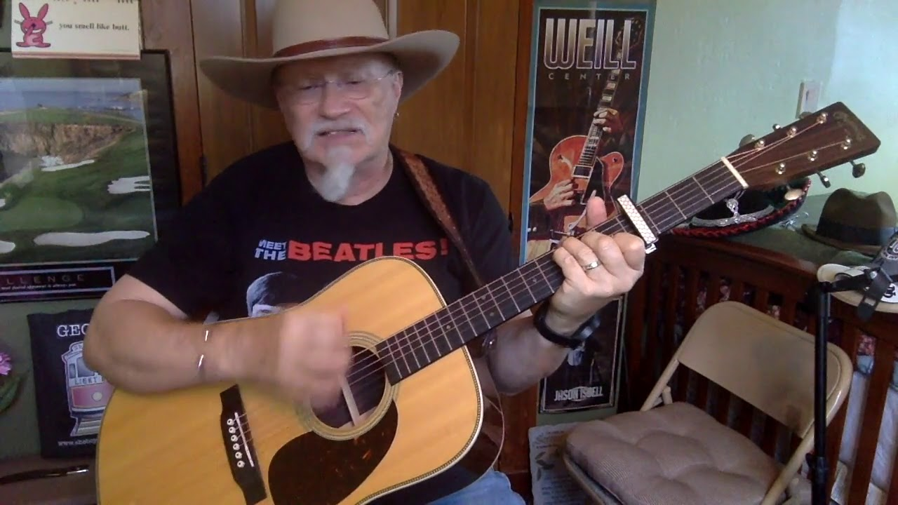 2452 - Take Home Pay - Slaid Cleaves cover - Vocals - Acoustic guitar &  chords