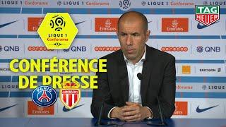 Conférence de presse Paris Saint-Germain - AS Monaco (3-1)  / 2018-19