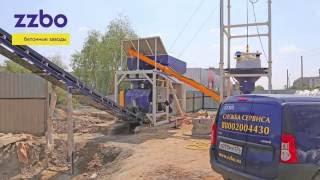 видео Сверхмобильный бетонный завод МОБИЛ-20