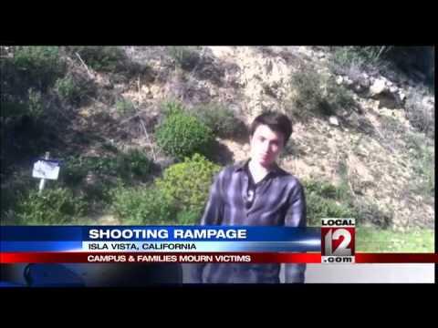 California students mourn near scene of rampage