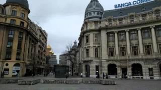 Walking around Bucharest, Romania 4k