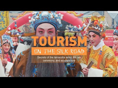 Tourism on the Silk Road. Secrets of the terracotta army, the tea ceremony, and acupuncture