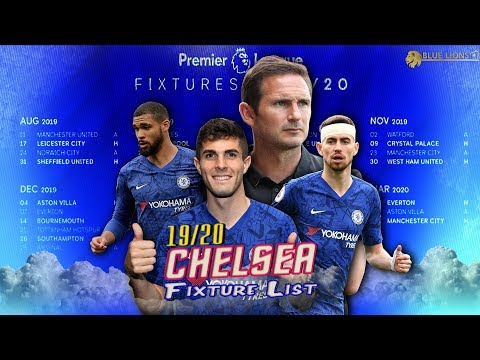 Chelsea's Premier League Fixtures 2019/20 - IS NEXT YEAR A WRITE OFF?