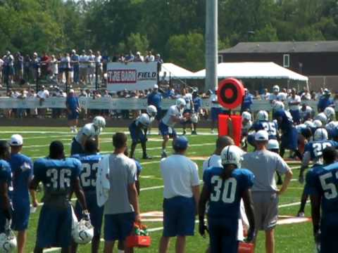 2010 Indianapolis Colts Training Camp - Manning to Wayne
