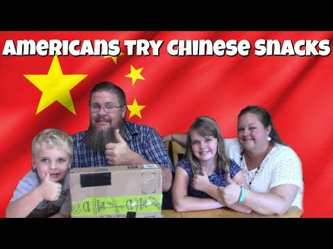 Foreign Food Friday || Americans Try Chinese Snacks