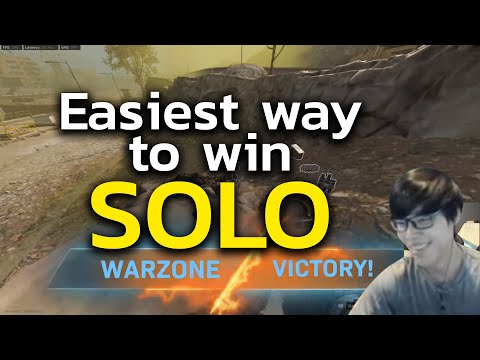 (ENG) Easiest Way To Win Call Of Duty: Warzone SOLO