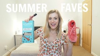 Summer Favourites | Chatting food, fitness, fashion & beauty