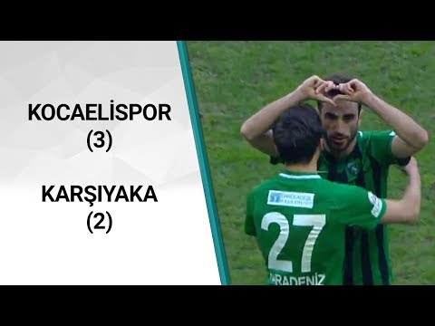 Kocaelispor 3-2 Karşıyaka (TFF 3. Lig 2. Grup 25. Hafta Maçı) / A Spor | A Spor