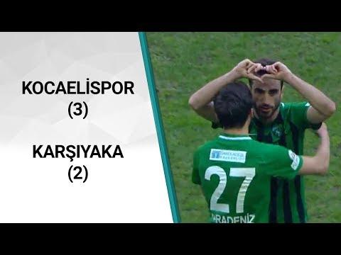 Kocaelispor 3-2 Karşıyaka (TFF 3. Lig 2. Grup 26. Hafta Maçı) 01.03.2020 | A Spor