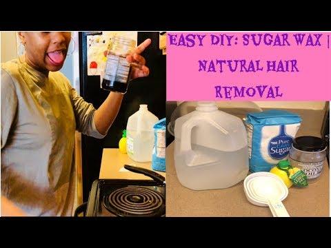 Easy DIY: Sugar Wax | Natural Hair Removal