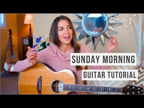 Sunday Morning - Maroon 5 // Guitar Tutorial