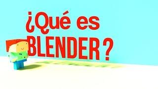 ¿Qué es Blender? Escuela de diseño gráfico Universidad Anáhuac Cancún