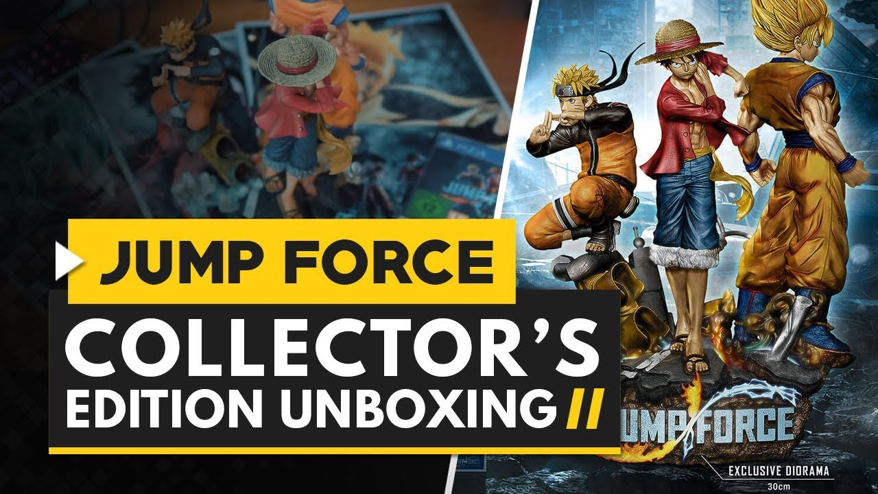 Jump Force | Collector\u0027s Edition Unboxing - YouTube