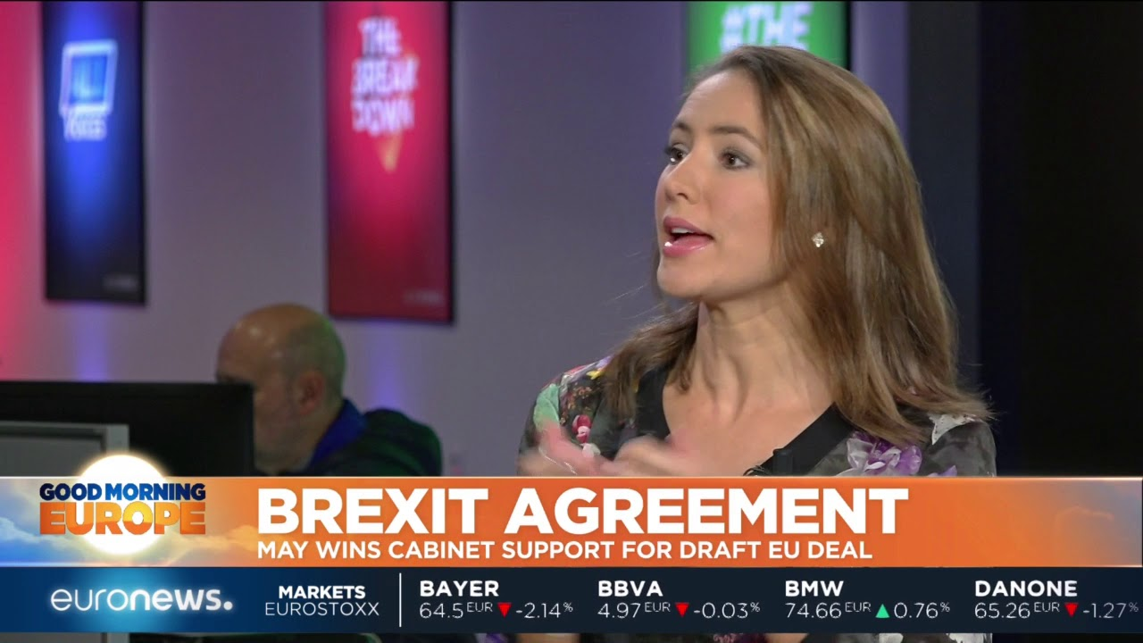 Brexit Agreement: May wins cabinet support for draft deal  #GME