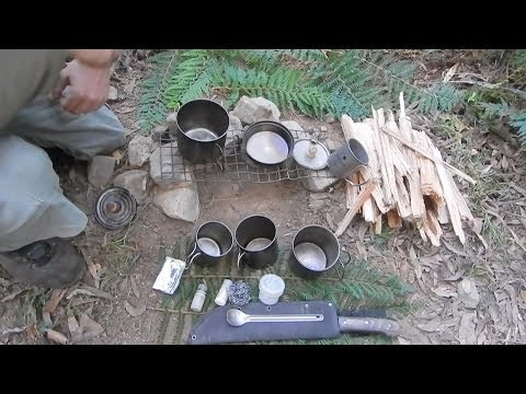 My Ultra Light Camp Cooking