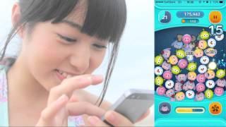 人気急上昇中の美少女「前田美里」がLINE ディズニーツムツムに挑戦。 ...