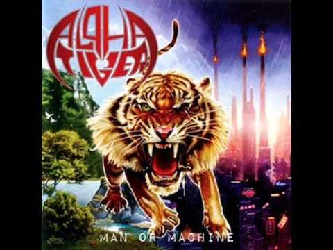 Alpha Tiger - Man or Machine (Full Album)
