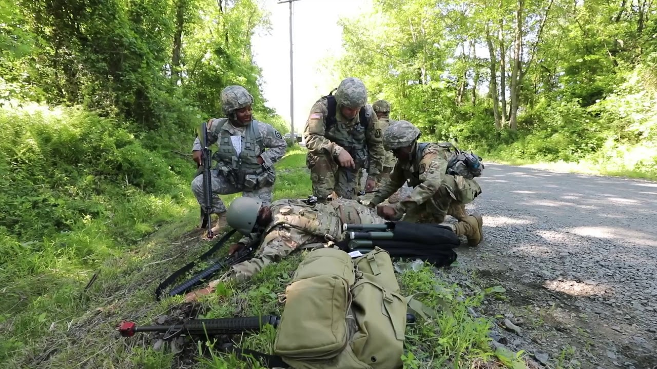 U.S. Army Reserve Soldiers with the 335th Signal Command (Theater) tested their mettle during a situational training exercise, which included ambushes, react to contact and pushing through the kill zone during an engagement at Joint Base McGuire-Dix-Lakehurst June 15, 2018. The training, aimed at increasing #readiness is a two-week annual training that ensures Soldiers are trained and ready to deploy on short-notice to bringing world-class signal support and capable, combat-ready, and lethal firepower anywhere in the world. (U.S. Army Reserve video by Spc. David Cook)
