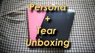 BTS Persona + Tear Album Unboxing