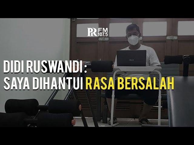 Cerita Didi Ruswandi, Kadis PU Kota Bandung Sembuh dari Covid-19 : Sempat Dihantui Rasa Bersalah