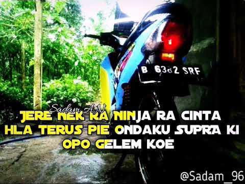 Story Wa Keren Kata Kata Anak Supra Holic Youtube