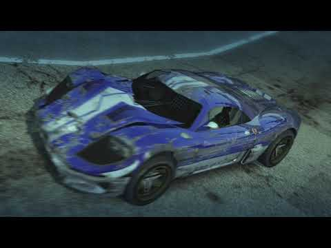 Dummy Starts Stunt Run, Loses To Other Dummy 3 Times - Burnout Paradise PS3 1.3