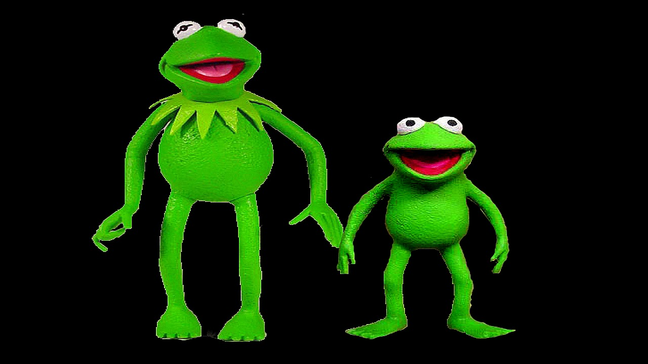 Kermit The Frog and his Nephew Robin The Frog Palisades ...
