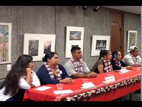 HITESOL Student Panel - UH Hilo Pacific Islander Students