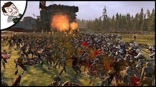 'MODERN EMPIRE' v 11000 UNDEAD - Total War WARHAMMER Survival Gameplay!