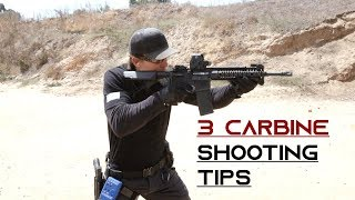 3 Carbine Shooting Tips
