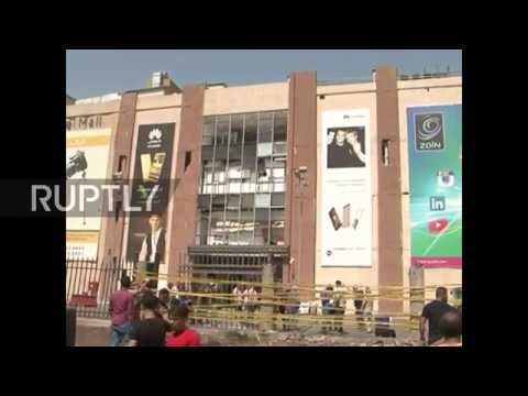 Iraq: IS claims deadly twin suicide blasts on Baghdad mall