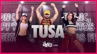 Tusa - Karol G, Nicki Minaj | FitDance TV (Coreografia Oficial)