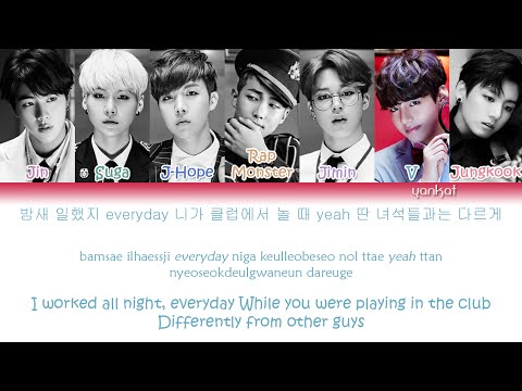 BTS (Bangtan Boys (방탄소년단) - Dope/Sick (쩔어) (Color Coded Han|Rom|Eng Lyrics)