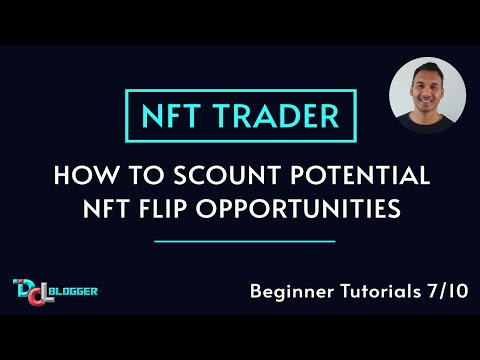 How To Find NFT Trade or Flip/Investment Opportunities