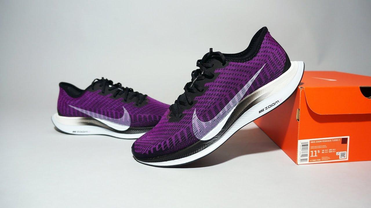 Nike Zoom Pegasus Turbo 2 Hyper Violet