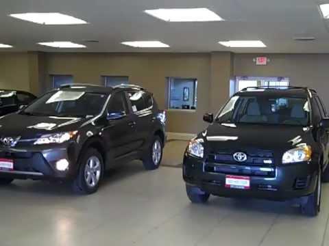2013 Vs 2012 Toyota Rav4 Comparison Jon Lancaster Toyota
