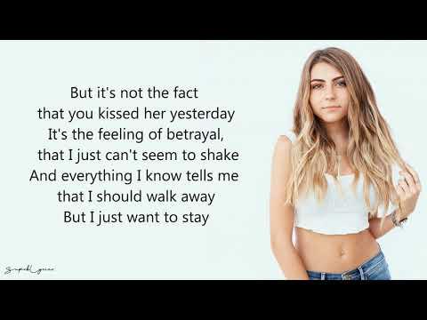 Be Alright - Jada Facer (Lyrics)