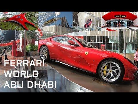 Ferrari World, Dubai – World's fastest coaster / Վլոգ Ֆերարի պարկ, Դուբայ