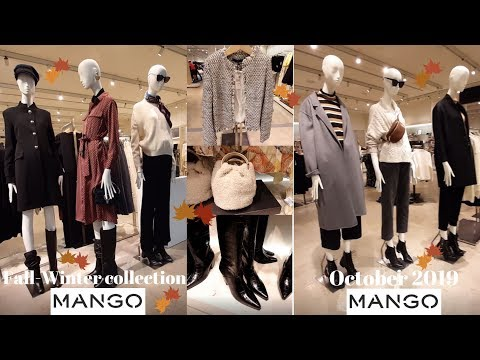 Mango Fall-Winter 2019/2020 Women's Fashion Collection / October 2019 / New!!![part 2]
