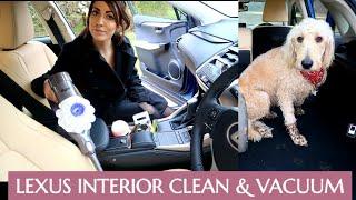 LEXUS INTERIOR CLEAN | JUST JADE | VACUUMING