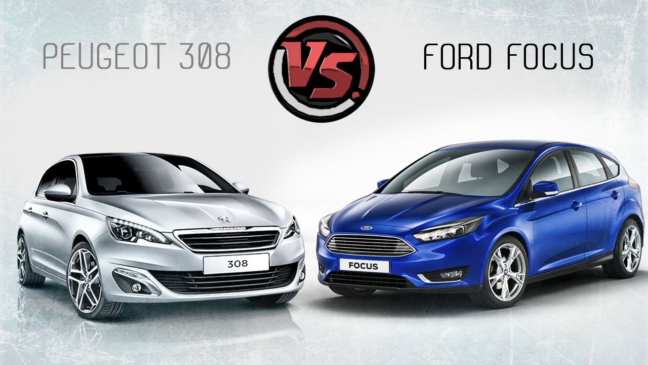 2hp  peugeot 308 vs ford focus