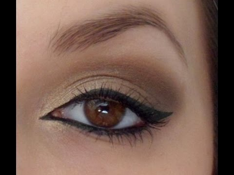 Tuto 10 Maquillage Avec La Naked Dor Bronze Marron Youtube