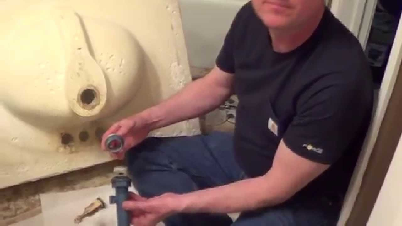 How To Install Bathroom Vanity Top how to replace a bathroom sink - how to replace a vanity top - youtube