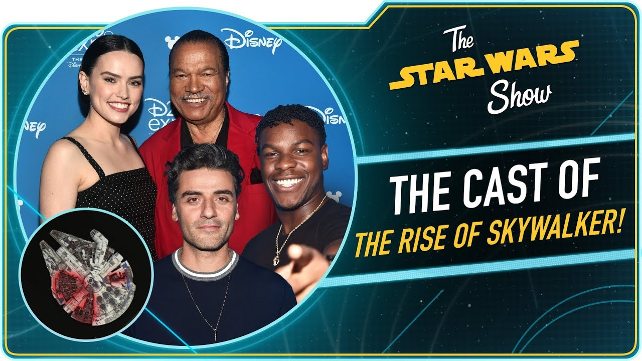 The Rise Of Skywalker Cast Is Excited For December Youtube