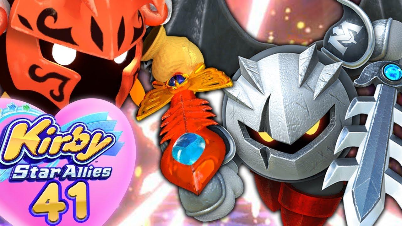 Dark Meta Knight Seul Contre Morpho Knight Kirby Star Allies 41