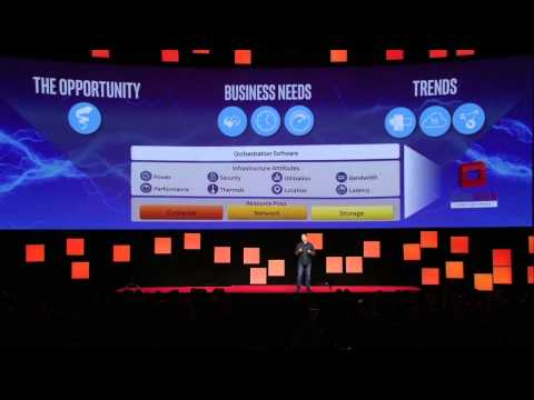 Intel's Doug Fisher lights up the 2015 Red Hat Summit
