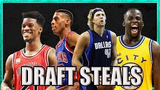 Every NBA Team's BIGGEST Draft Steal of ALL TIME (Pt. 1)
