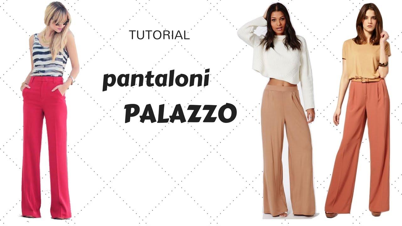 Pantalone a palazzo: come costruirlo – Il blog in Rosa