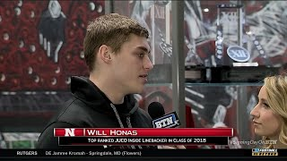 Will Honas Talks Signing with Nebraska