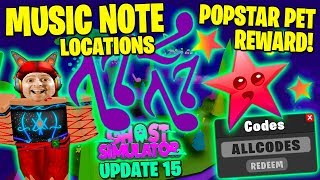 ALL Purple Music Note Locations Jax Questline Quest 20 ALL CODES 👻 Roblox Ghost Simulator Update 15